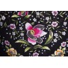 Natural silk hand embroidered shawl G282