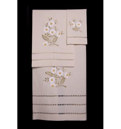 Daisy towel set TI321