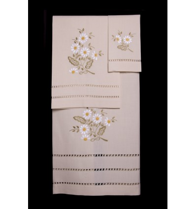 Daisy towel set TI321