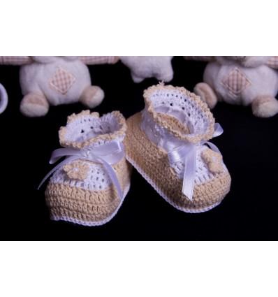 Patucos de coton PT275B