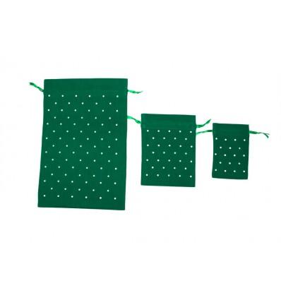 Green dots bag B494
