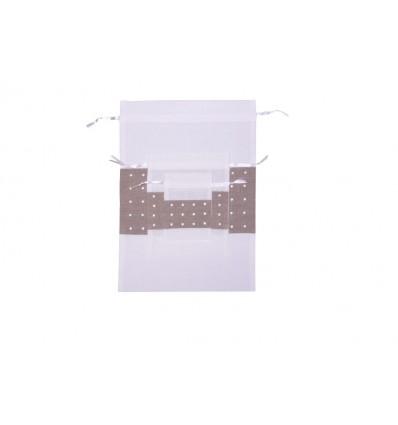 Weiße Bodoques Tasche B495