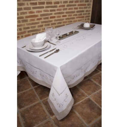 Embroidered tablecloth 82