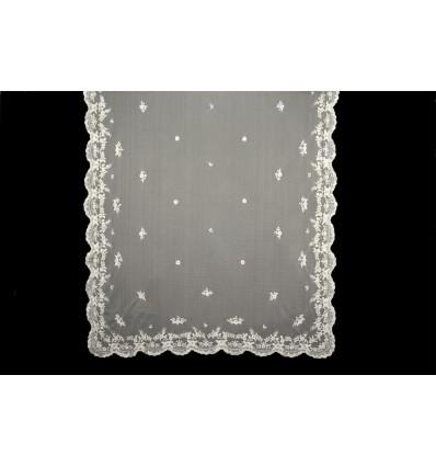 MT107 handbestickte natürliche Seide Decke