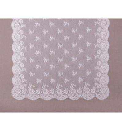 Emboidered mantilla MT7033