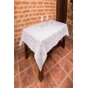 Embroidered tablecloth 197