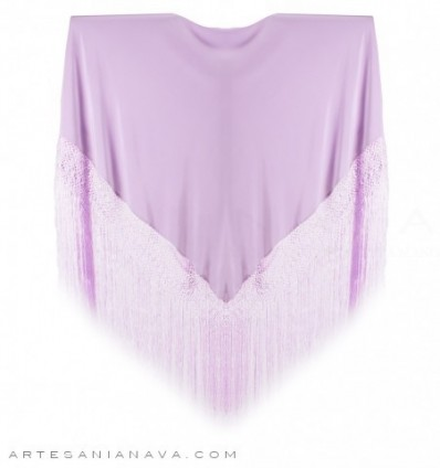 Natural silk plain shawl MDS