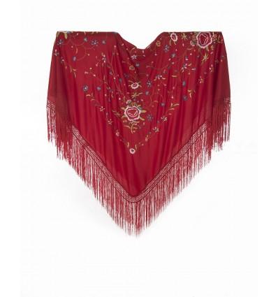 Embroidered shawl AQ