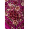 Natural silk hand embroidered shawl G1