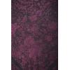 Natural silk hand embroidered shawl G363