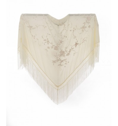 Embroidered shawl AQE