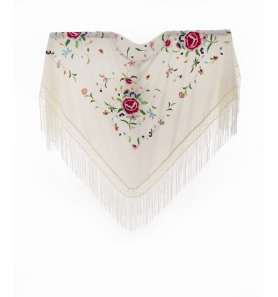 Embroidered shawl MBQ