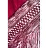 Mantón antiguo seda natural bordado M.ANT-277