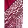 Natural silk hand embroidered antique shawl M.ANT-113