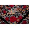 Mantón antiguo seda natural bordado a mano M.ANT-306