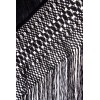 Natural silk hand embroidered antique shawl M.ANT-80