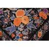 Mantón antiguo seda natural bordado M.ANT-434