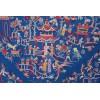 Mantón antiguo seda natural bordado M.ANT-441
