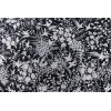 Mantón antiguo seda natural bordado a mano M.ANT-424