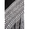 Natural silk hand embroidered antique shawl M.ANT-52