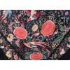 Natural silk hand embroidered antique shawl M.ANT-504