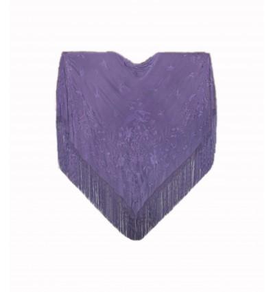 Manteau brodé à la main M.ANT-18 en soie naturelle antique brodée à la main