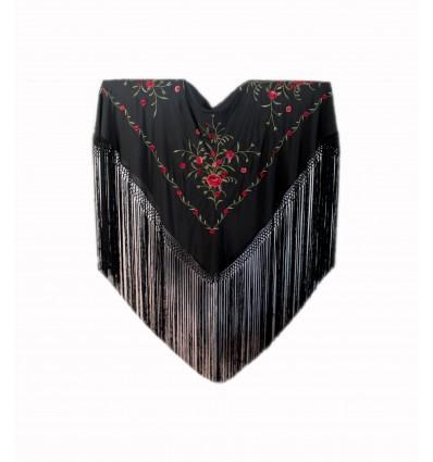 Embroidered shawl MDQ