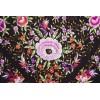 Natural silk hand embroidered shawl G283