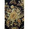 Natural silk hand embroidered shawl G315