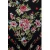 Natural silk hand embroidered shawl G318