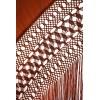 M.ANT-28 handbestickte natürliche Seide antike handbestickte Mantel
