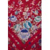 Natural silk hand embroidered shawl MD31